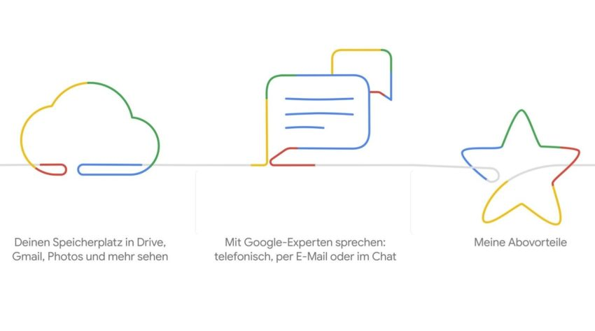 Google One ist jetzt bei uns verfügbar