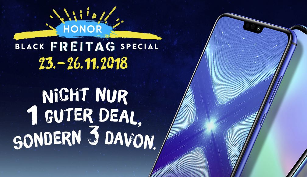 Honor Black Freitag Special 2018
