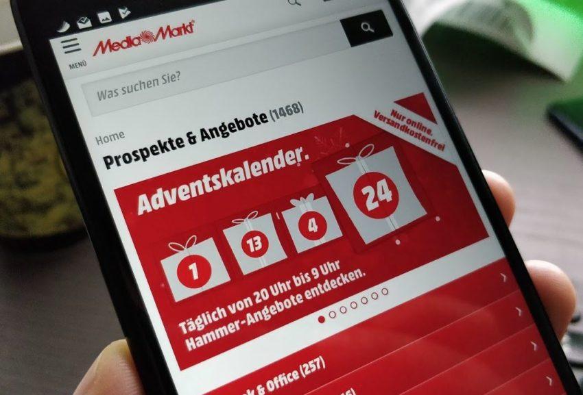 MediaMarkt Adventskalender Tür 17: Wiko Lenny 5 für 66 Euro und andere Hardware