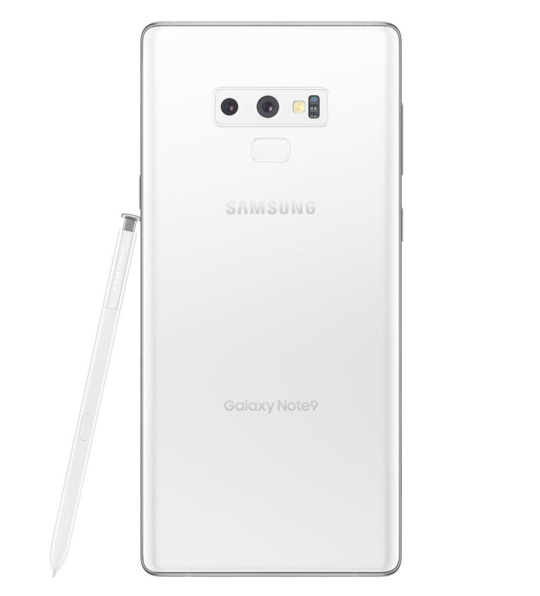 Samsung Galaxy Note9 in Weiß