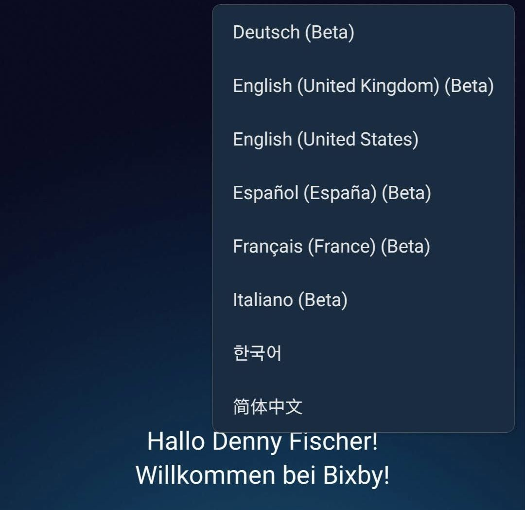 Bixby Deutsch