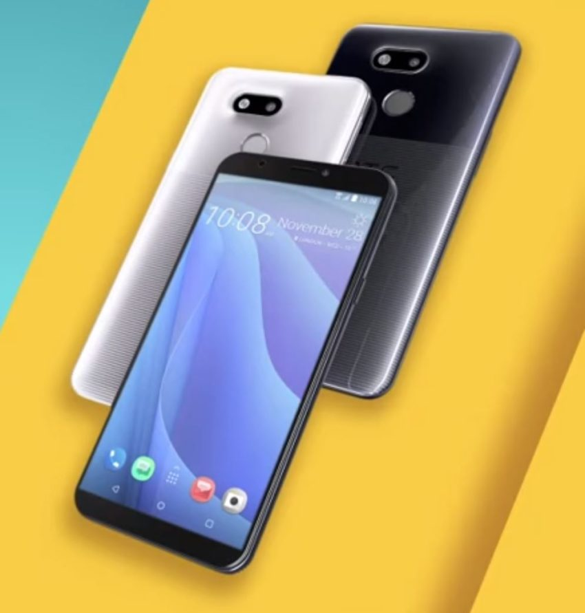 HTC Desire 12s glänzt mit auffallend hässlicher Rückseite
