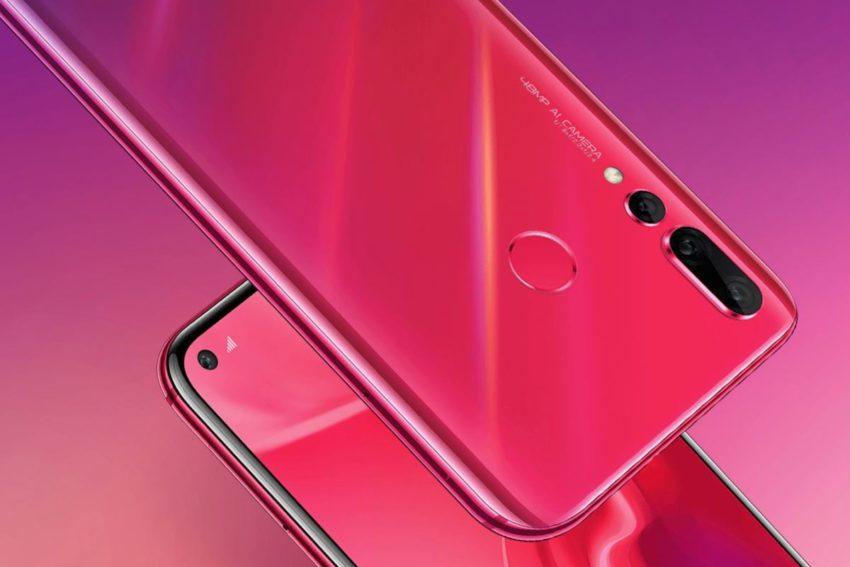 Huawei Nova 4 vorgestellt: Gelöchertes Display und Triple-Kamera