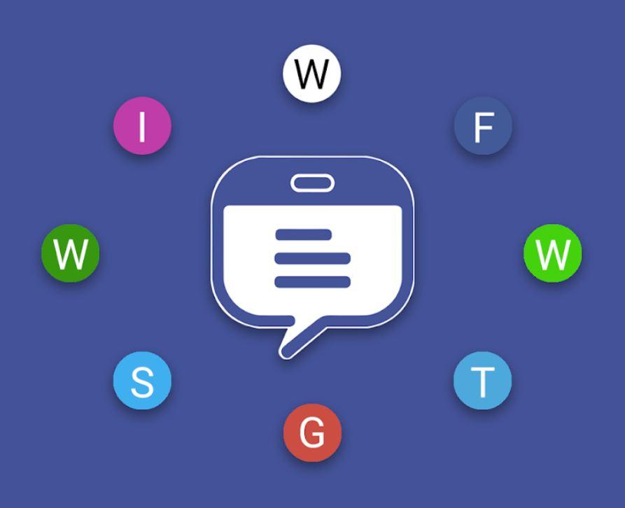 Tablet Messenger Header