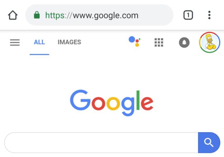 Google Assistant taucht in mobiler Websuche auf