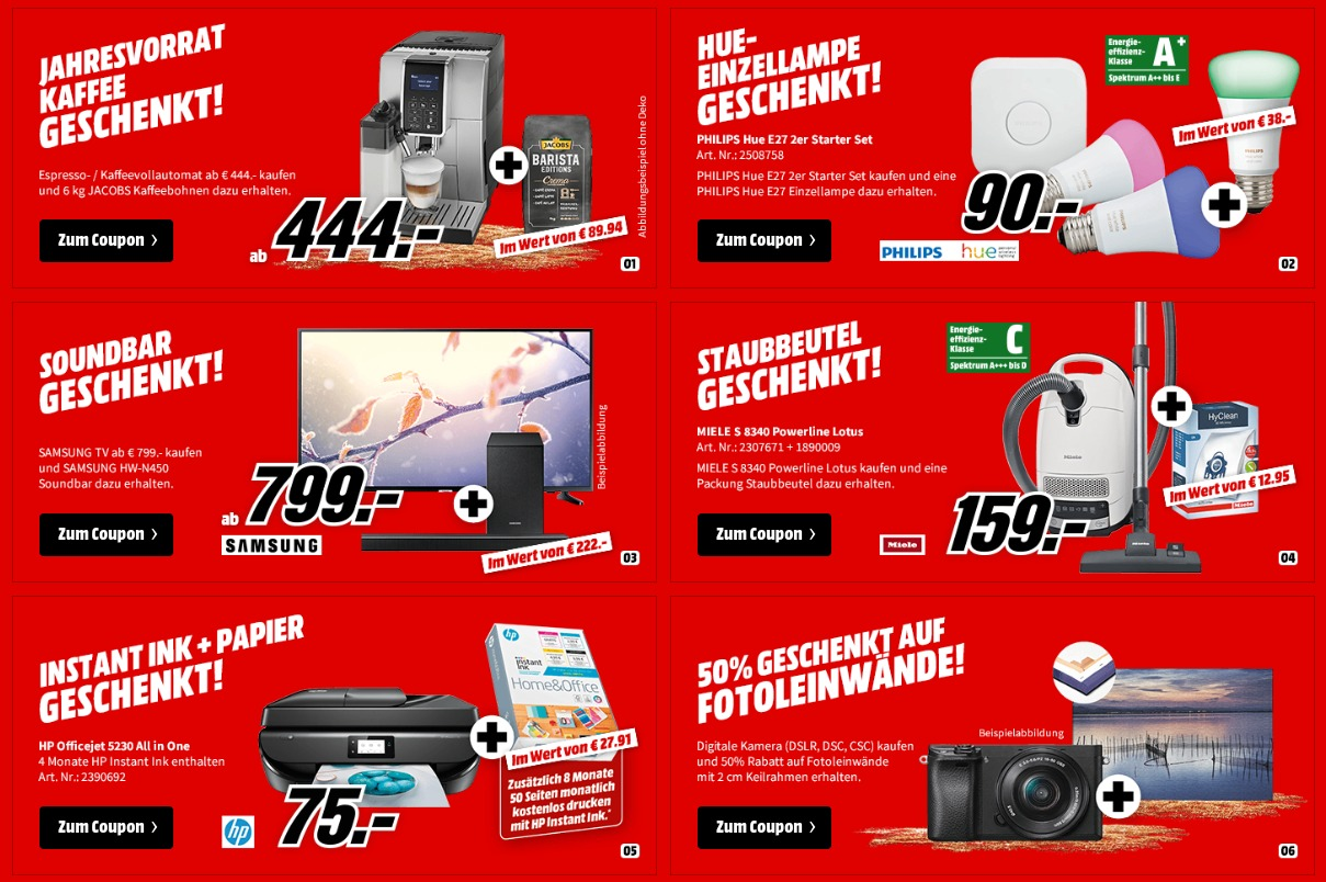 Coupon Aktion MediaMarkt 2019