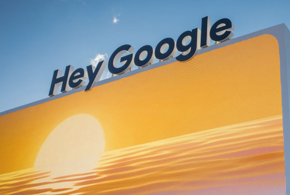 Hey Google Header