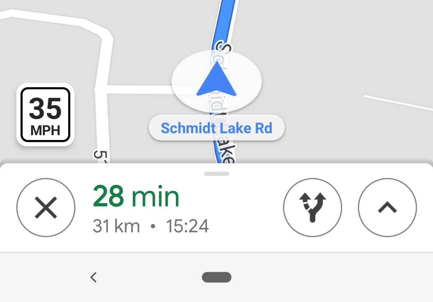 Google Maps Zeigt Geschwindigkeitsbegrenzung Bei Den Ersten Nutzern