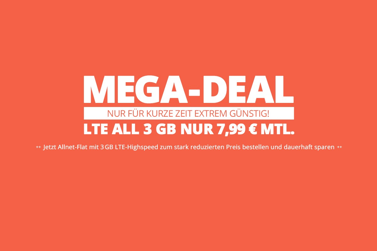 winsim 3 GB Mega deal