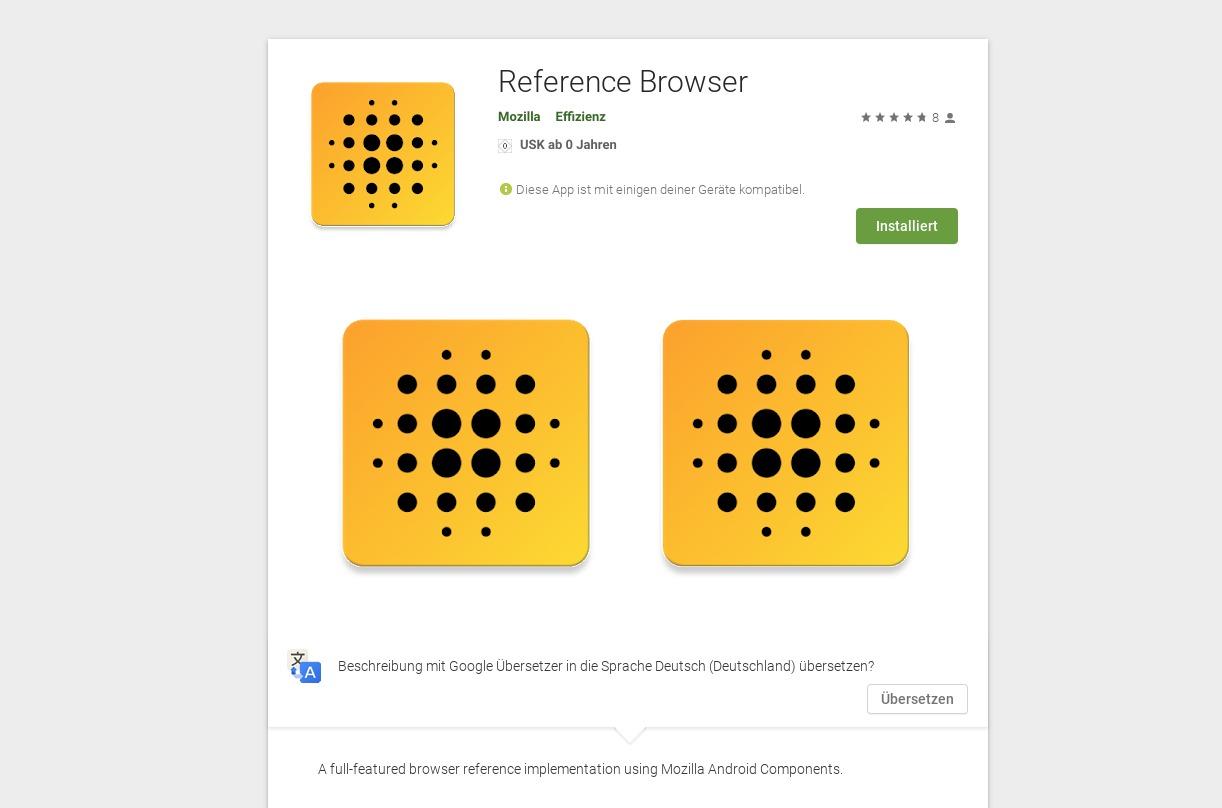 Referenz Browser