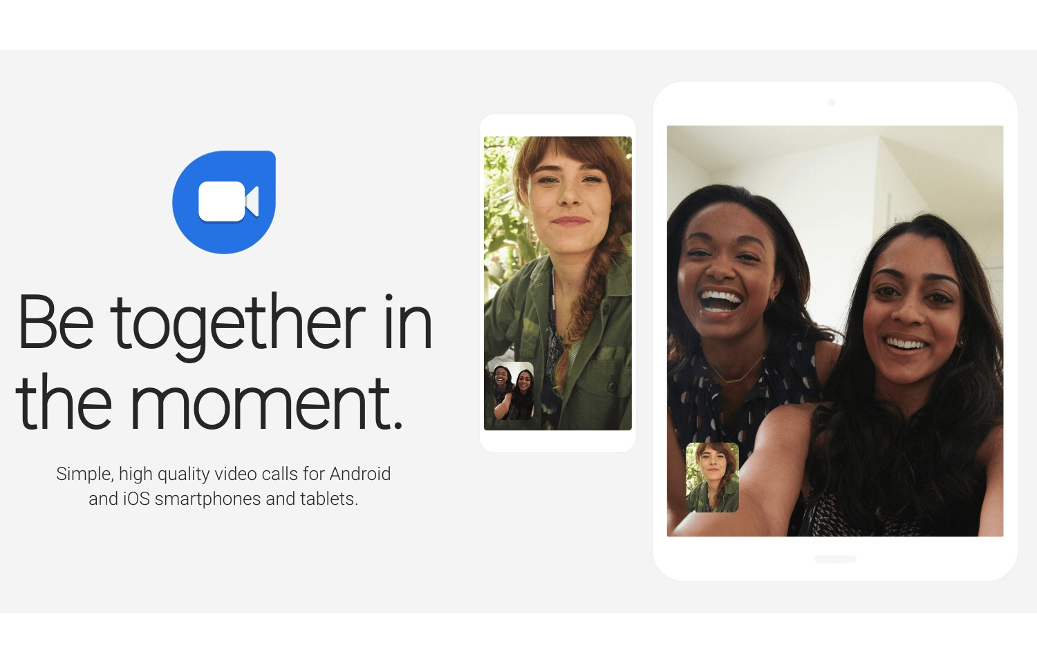 Google Duo Header