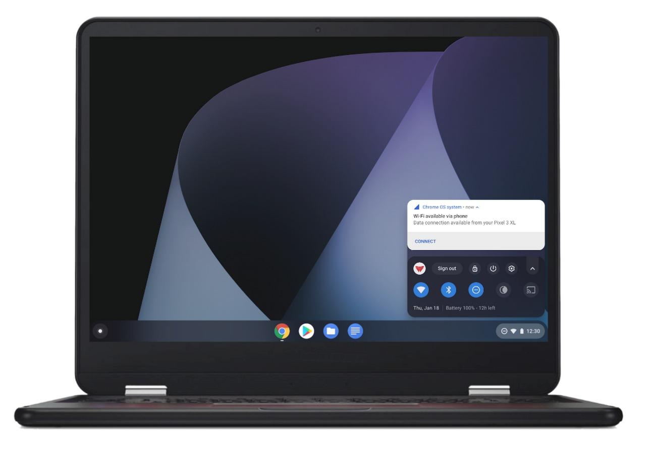 Instant Tethering Chromebook Header