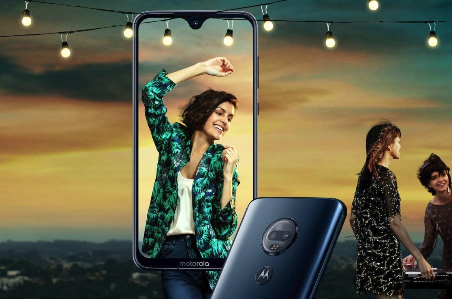 Motorola Moto G7 Header