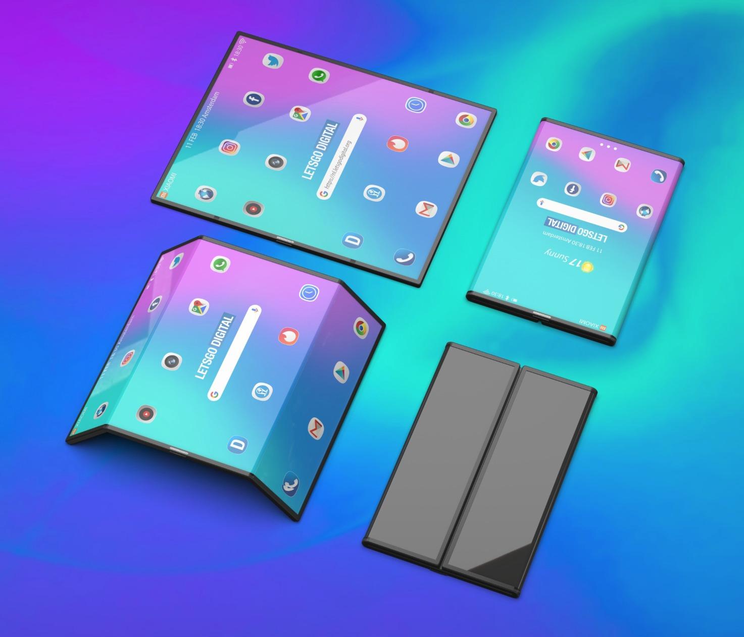 Xiaomi Falt Smartphone Konzept