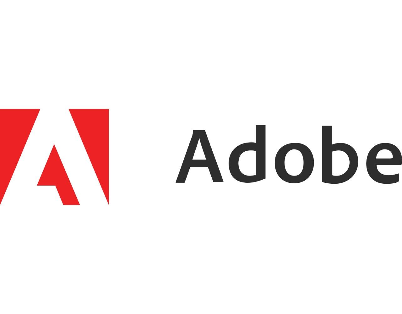 Adobe Logo header