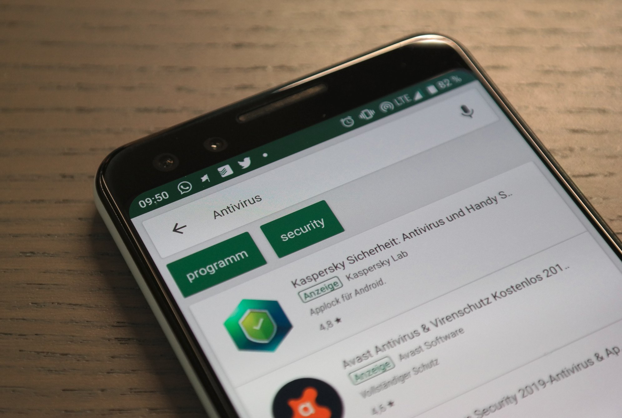 Antiviren Apps Header