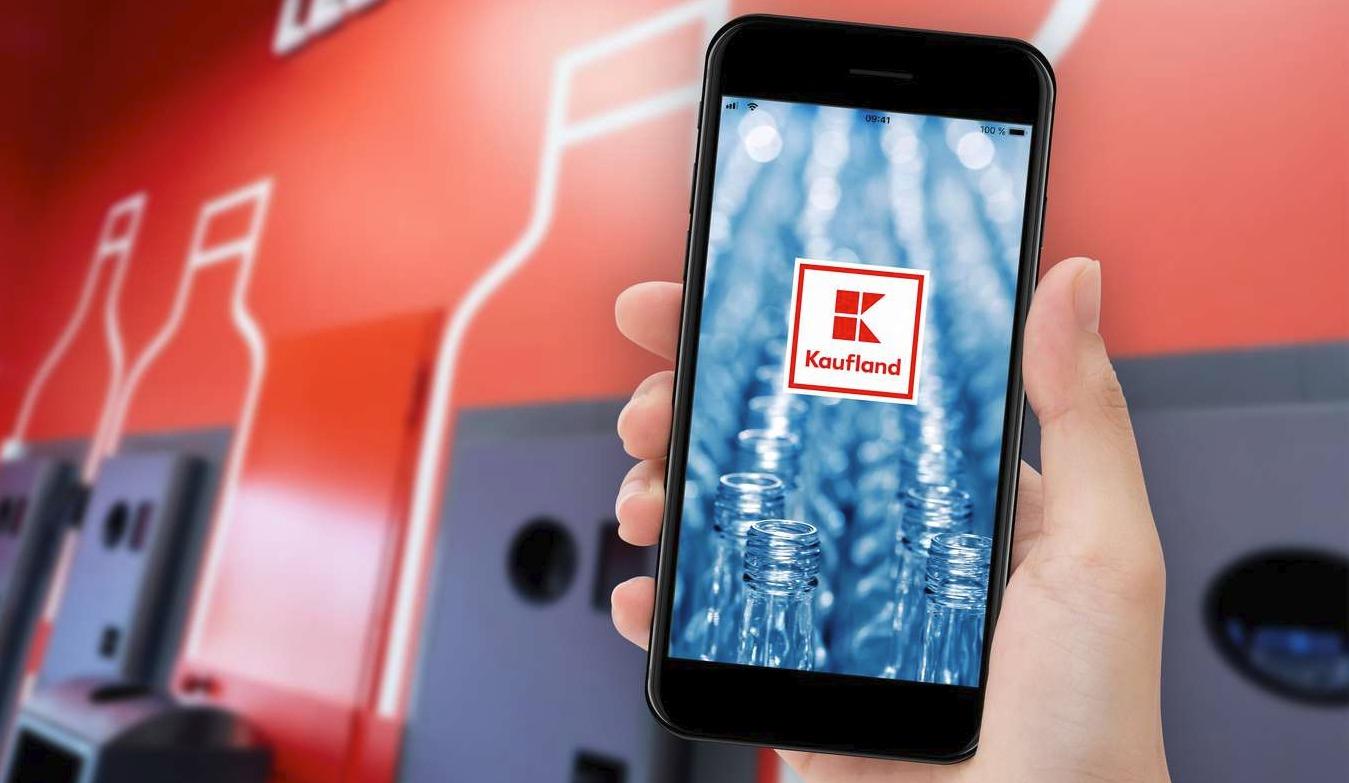 Kaufland App smartphone Header