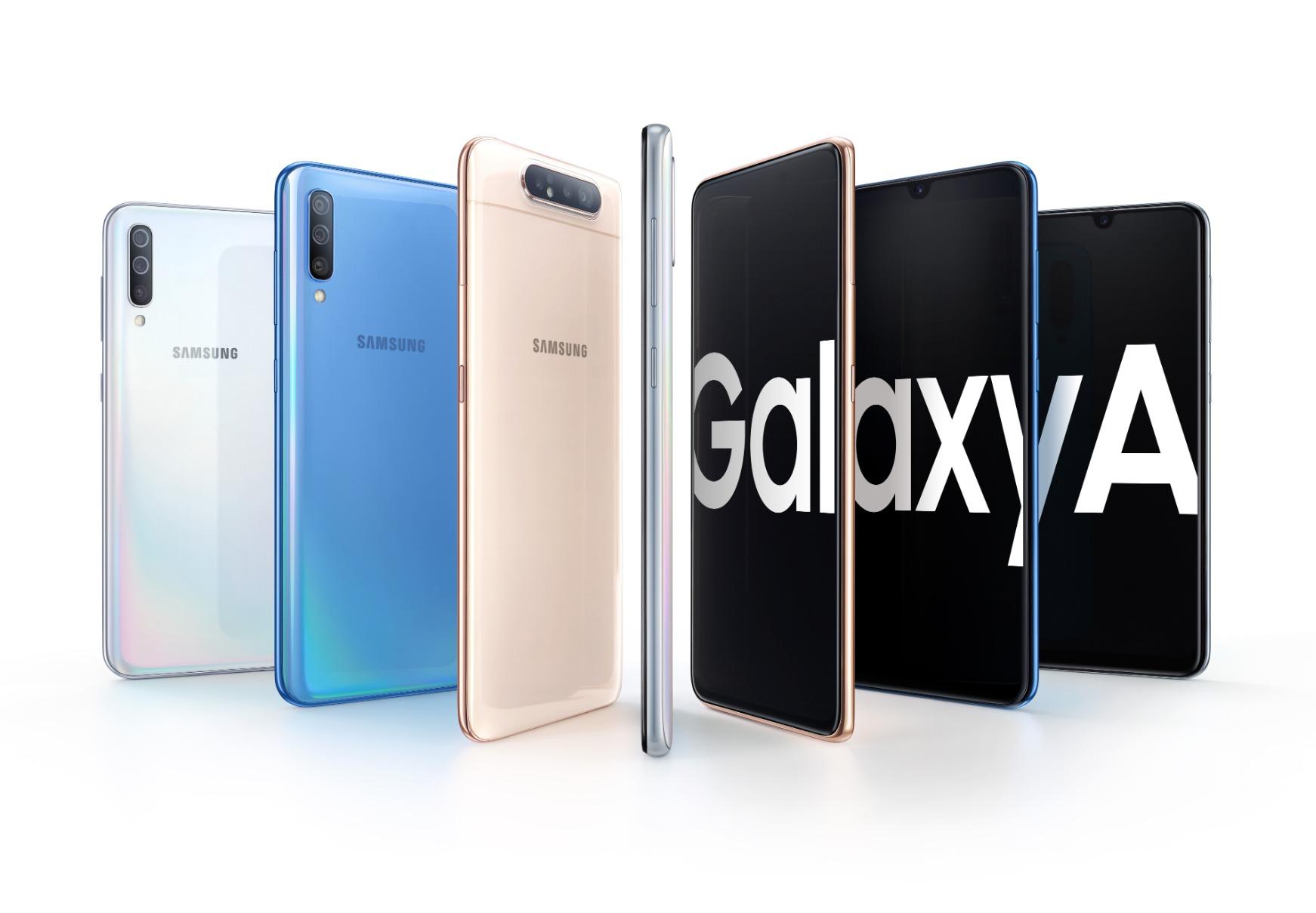 Samsung Galaxy A Familie Header 2019