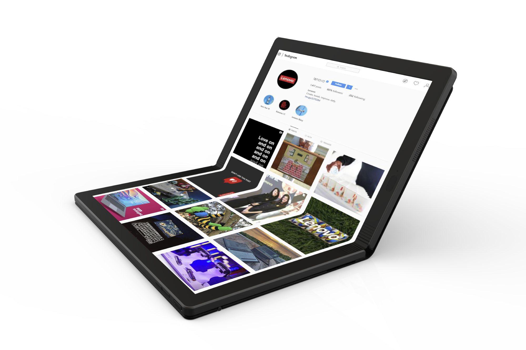 Lenovo Falt-Notebook Header