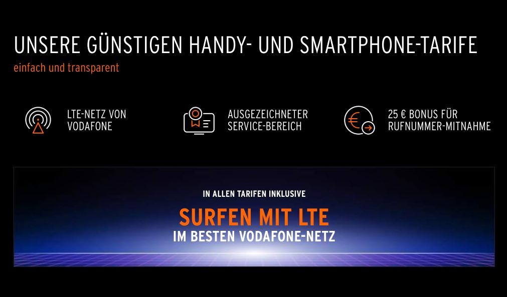 Otelo: Jetzt surft jeder (Postpaid) im LTE-Netz von Vodafone