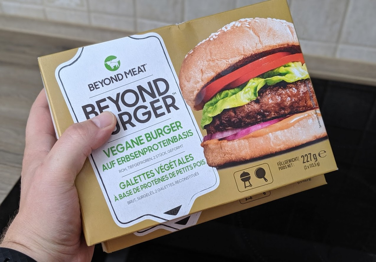 netto beyond meat burger