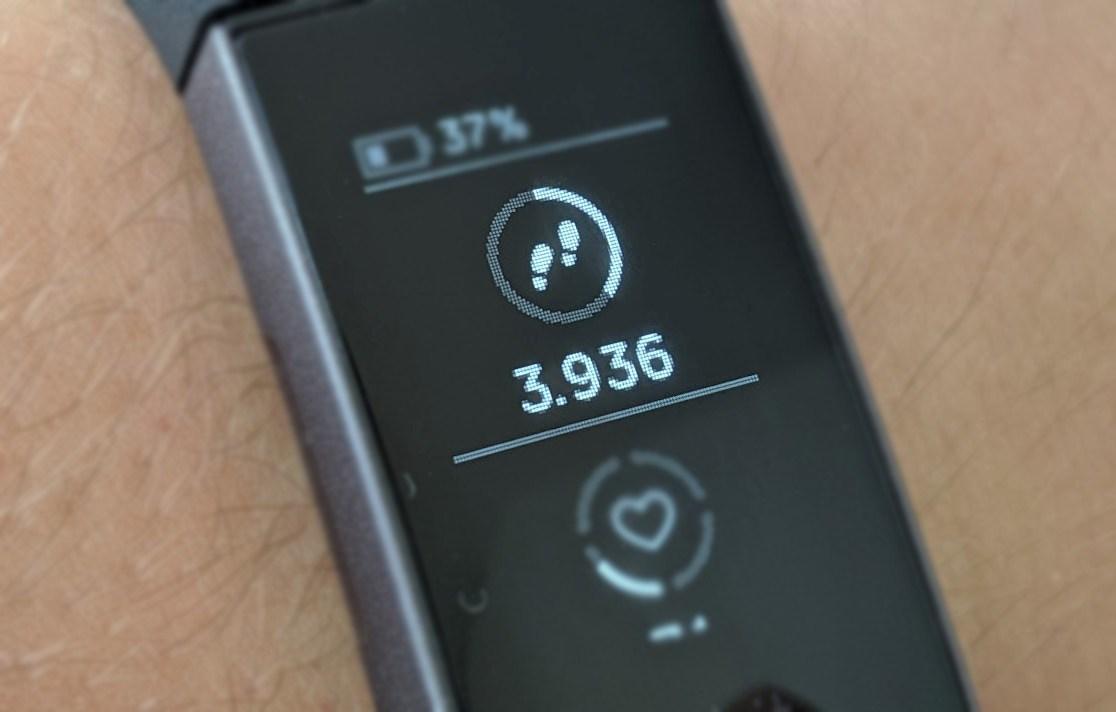 Schritte Fitness-Tracker Header