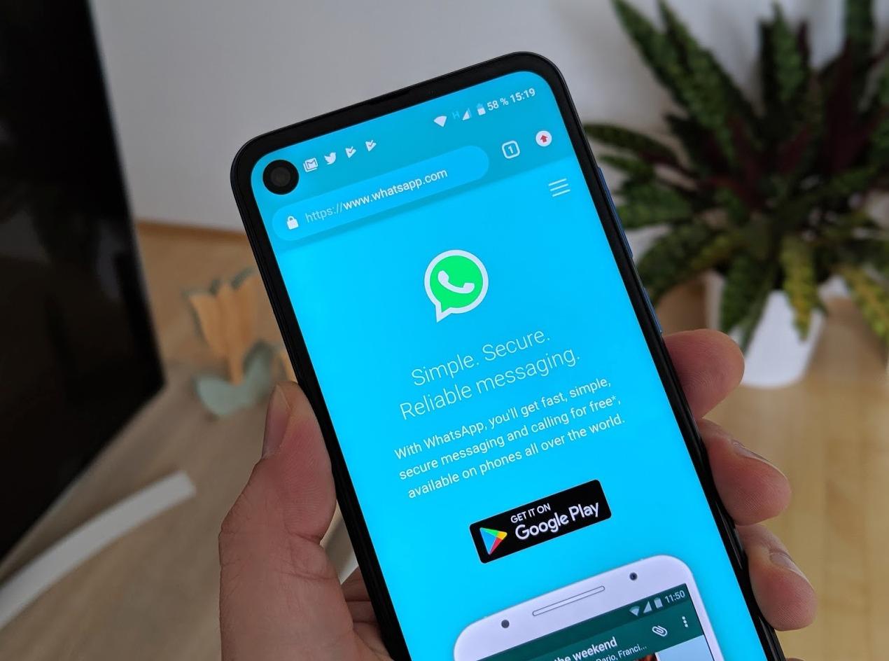 WhatsApp Header 2019