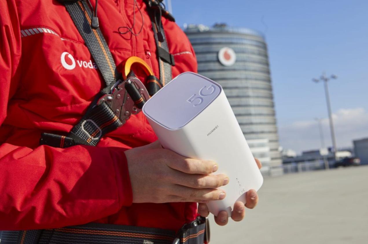 Vodafone 5G Gigacube Header