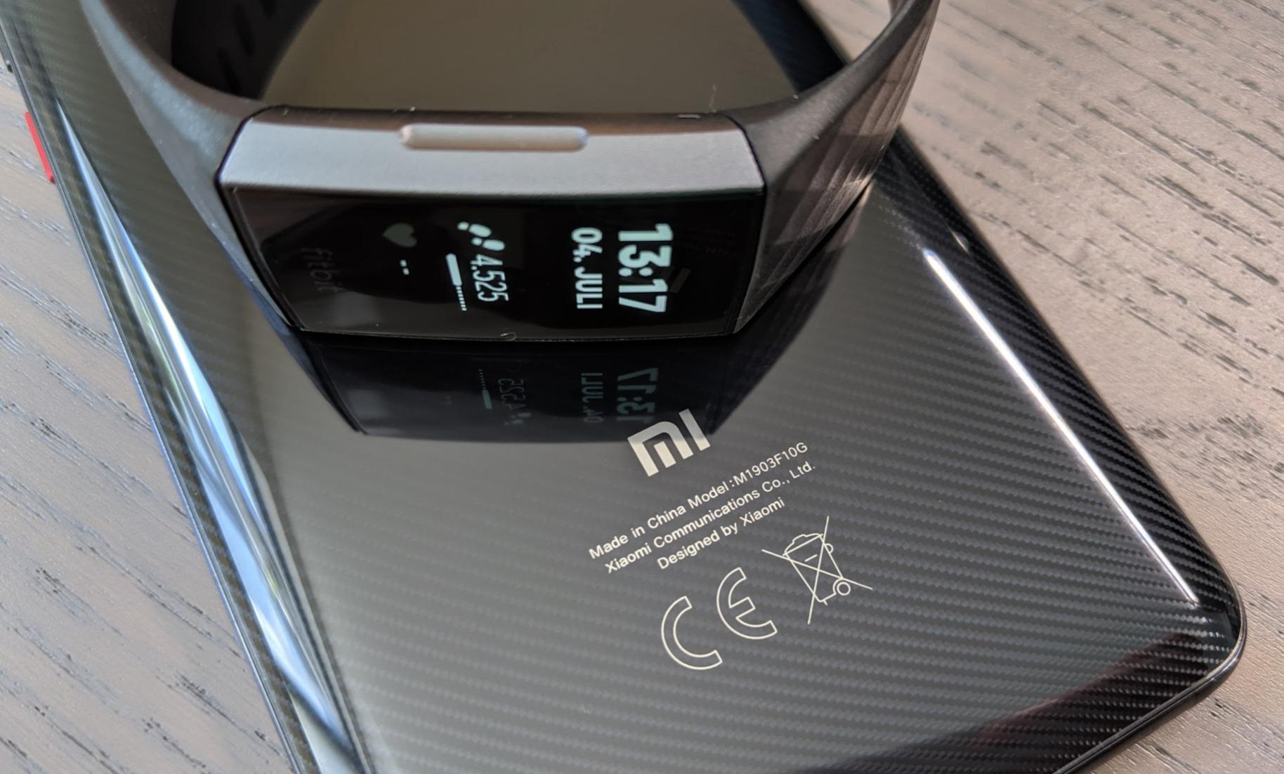 Xiaomi Mi 9T Fitbit