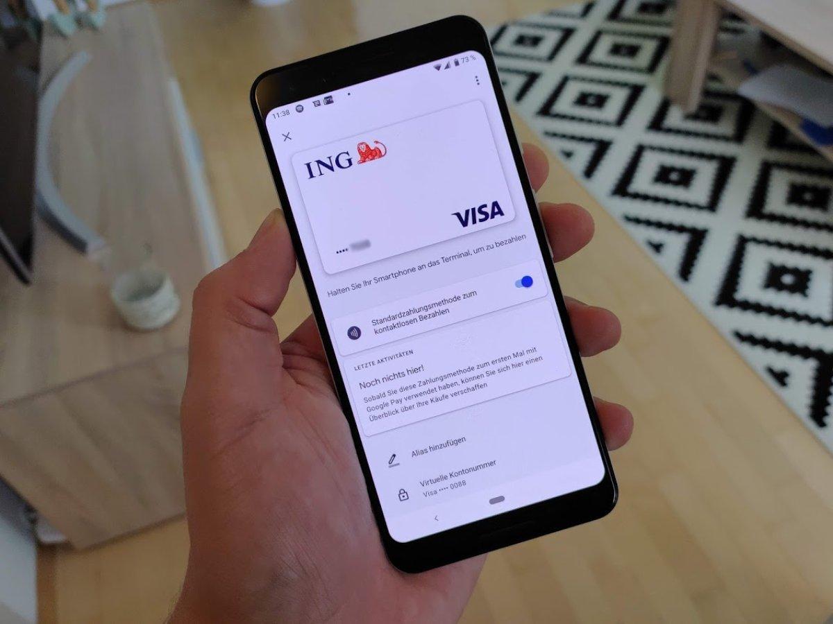 ING (DiBa) jetzt mit Google Pay nutzbar