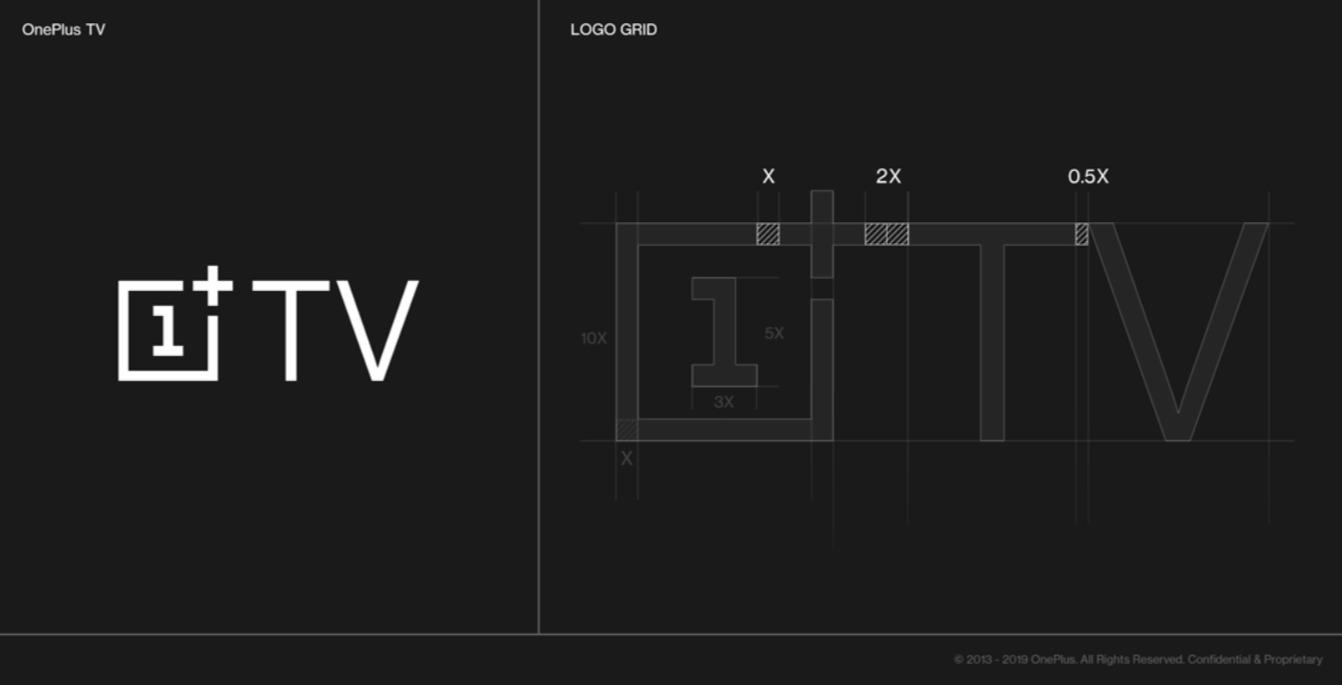 OnePlus TV Logo Designprozess