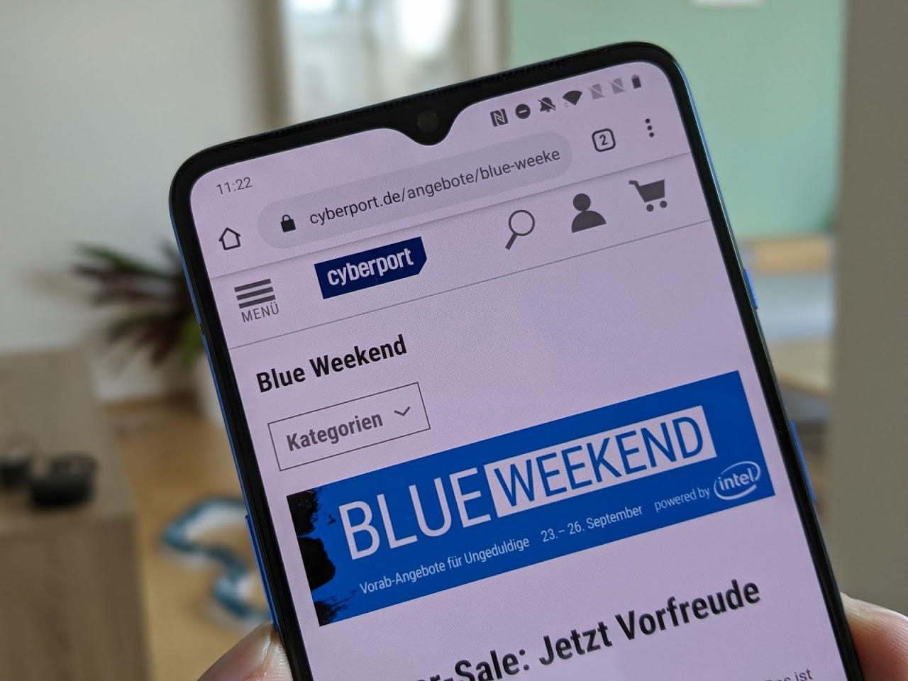Cyberport Blue Weekend 2019