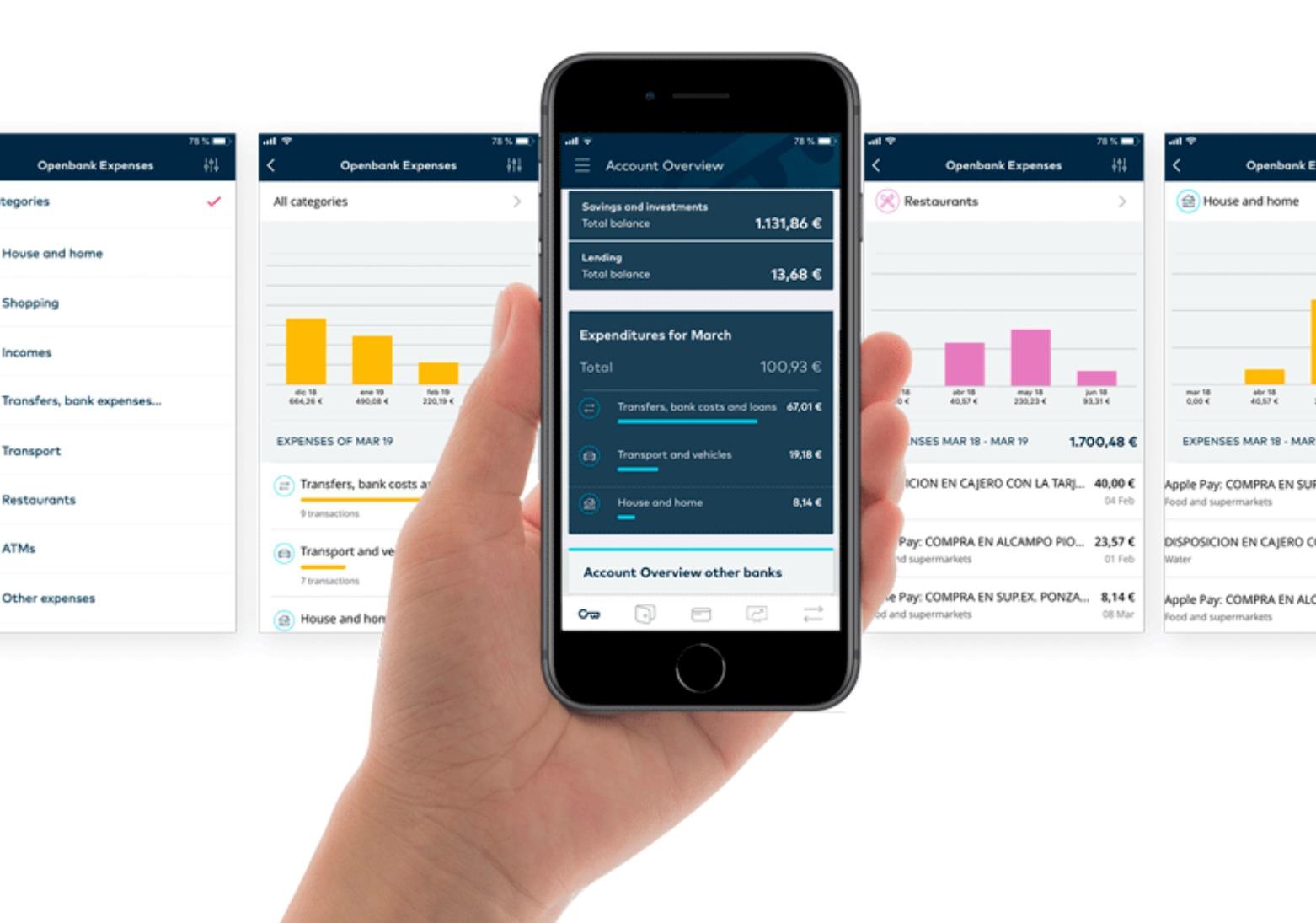 OpenBank Ausgaben App