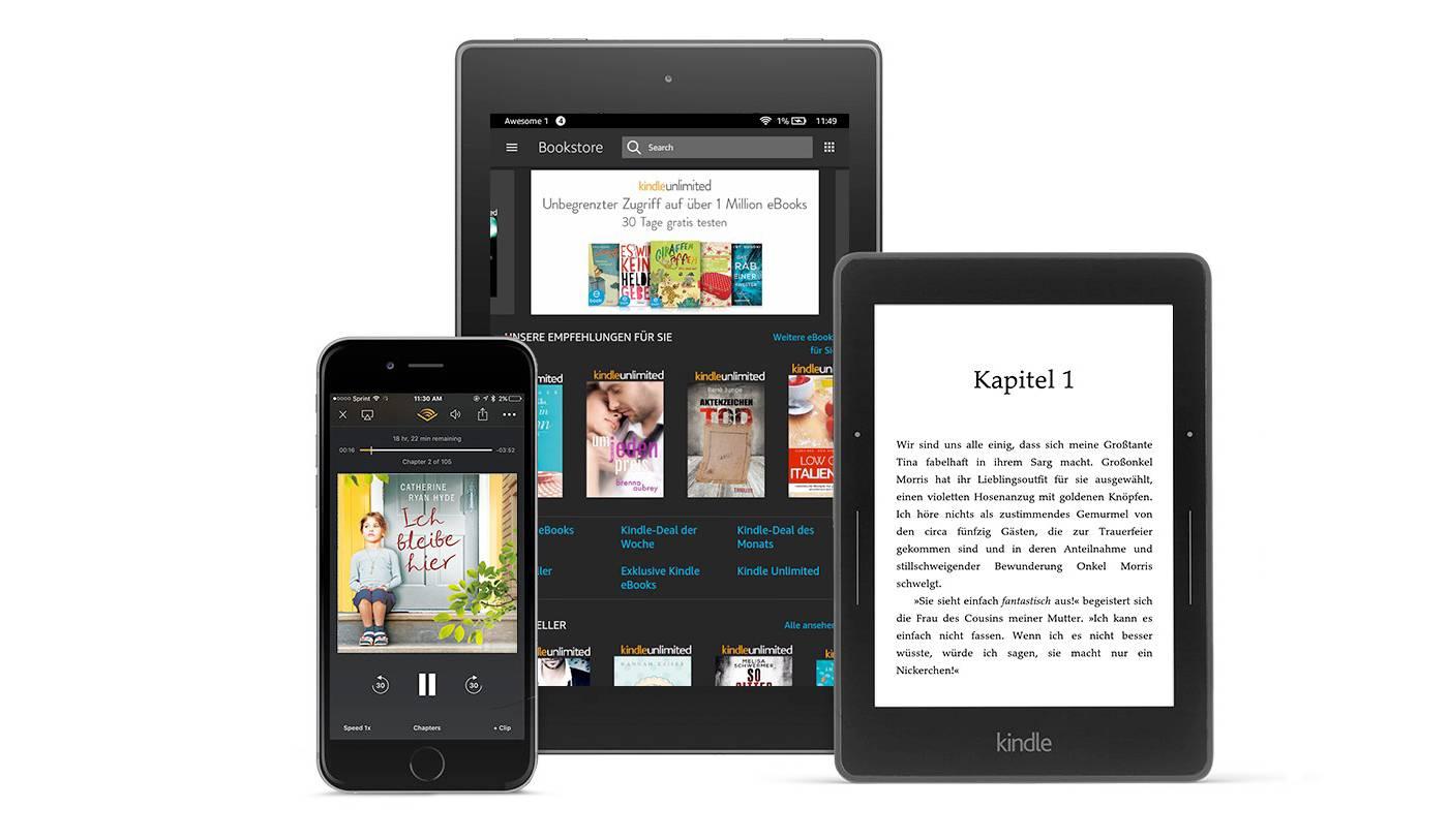Amazon Kindle Unlimited Header