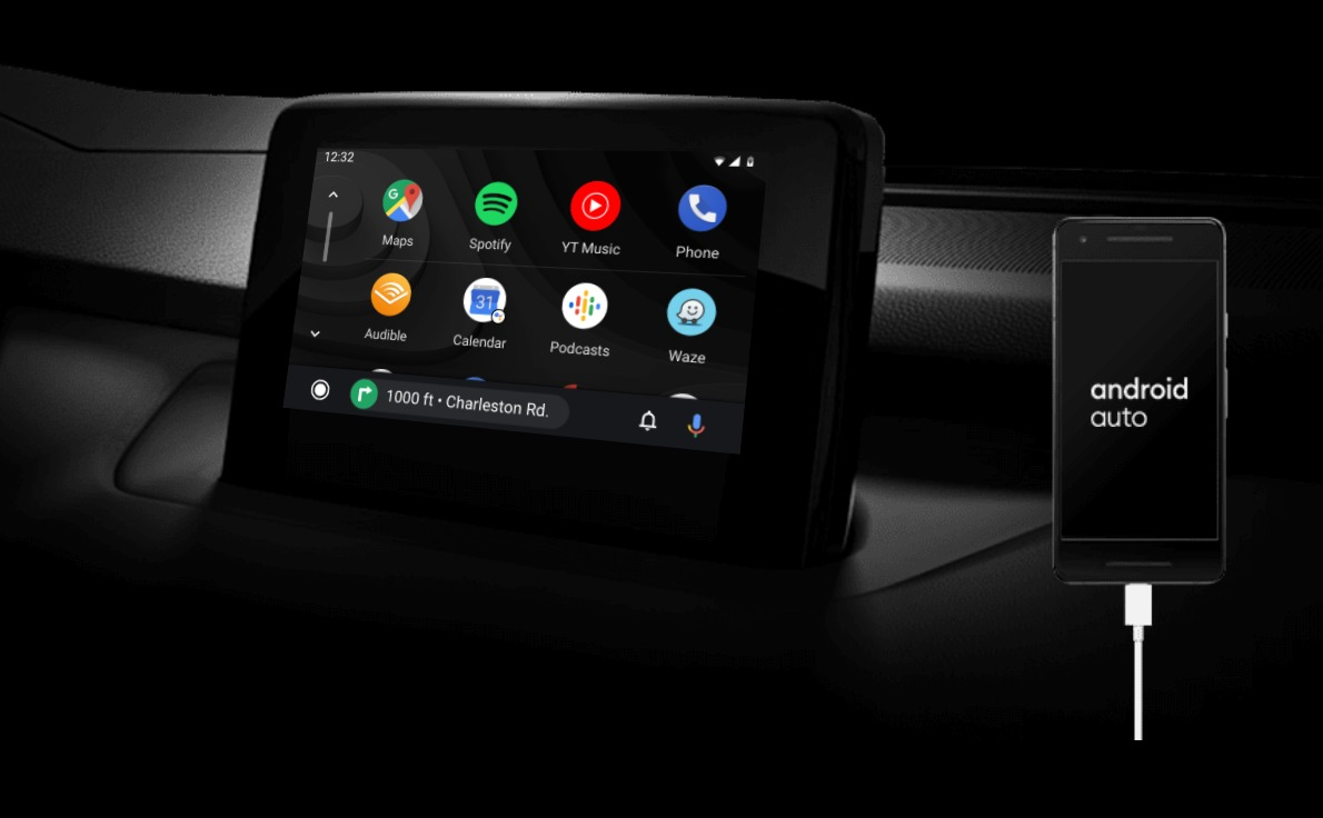 Android Auto Header
