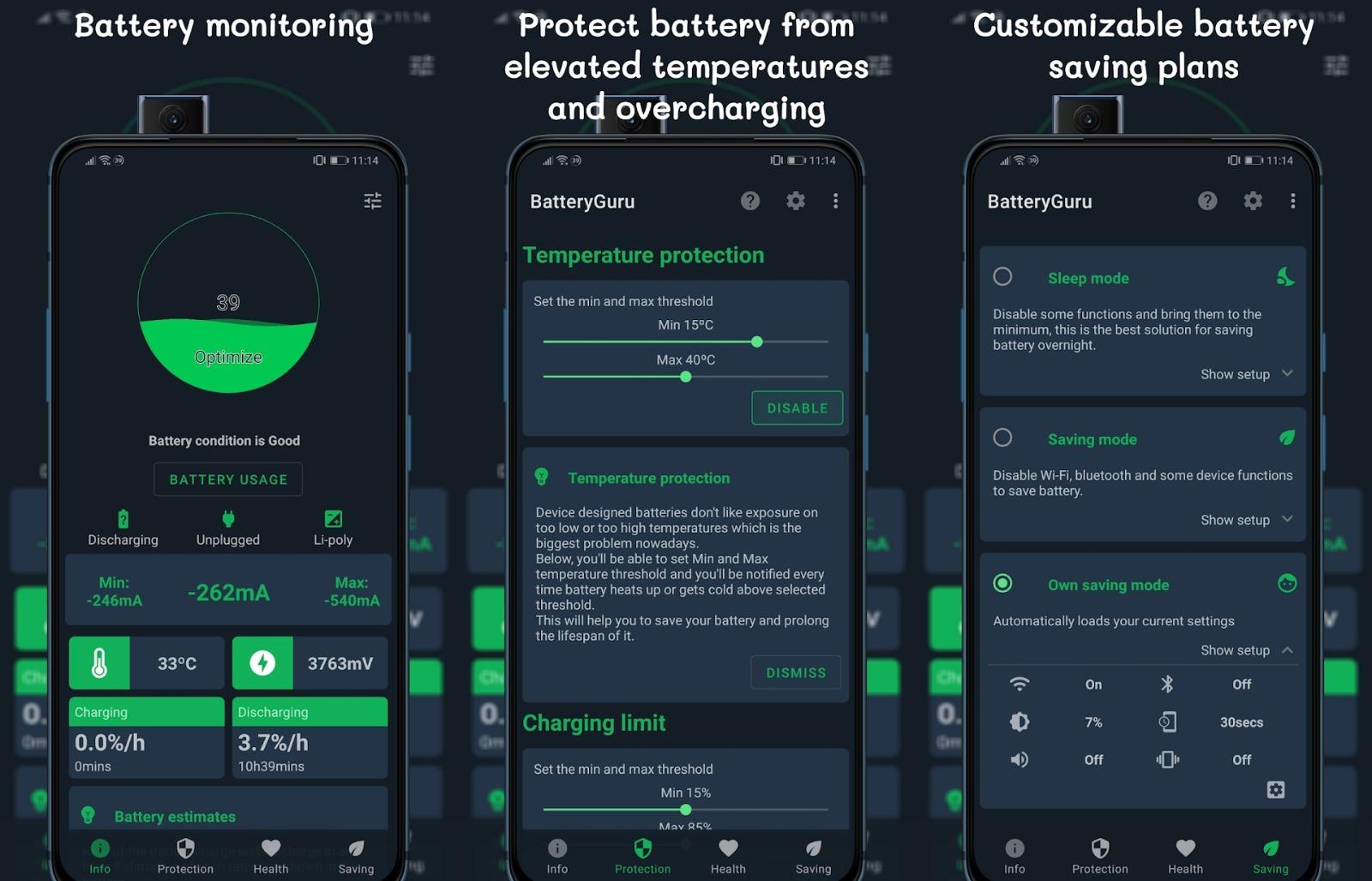 BatteryGuru Android App