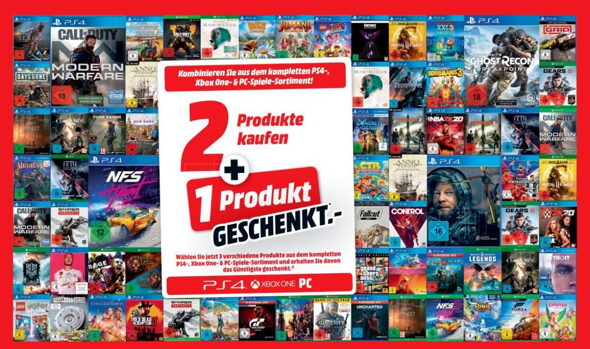 3 für 2 Aktion MediaMarkt