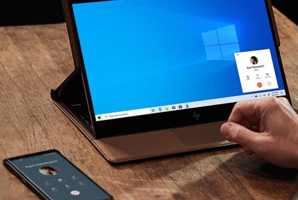 Anrufe Windows 10 PC