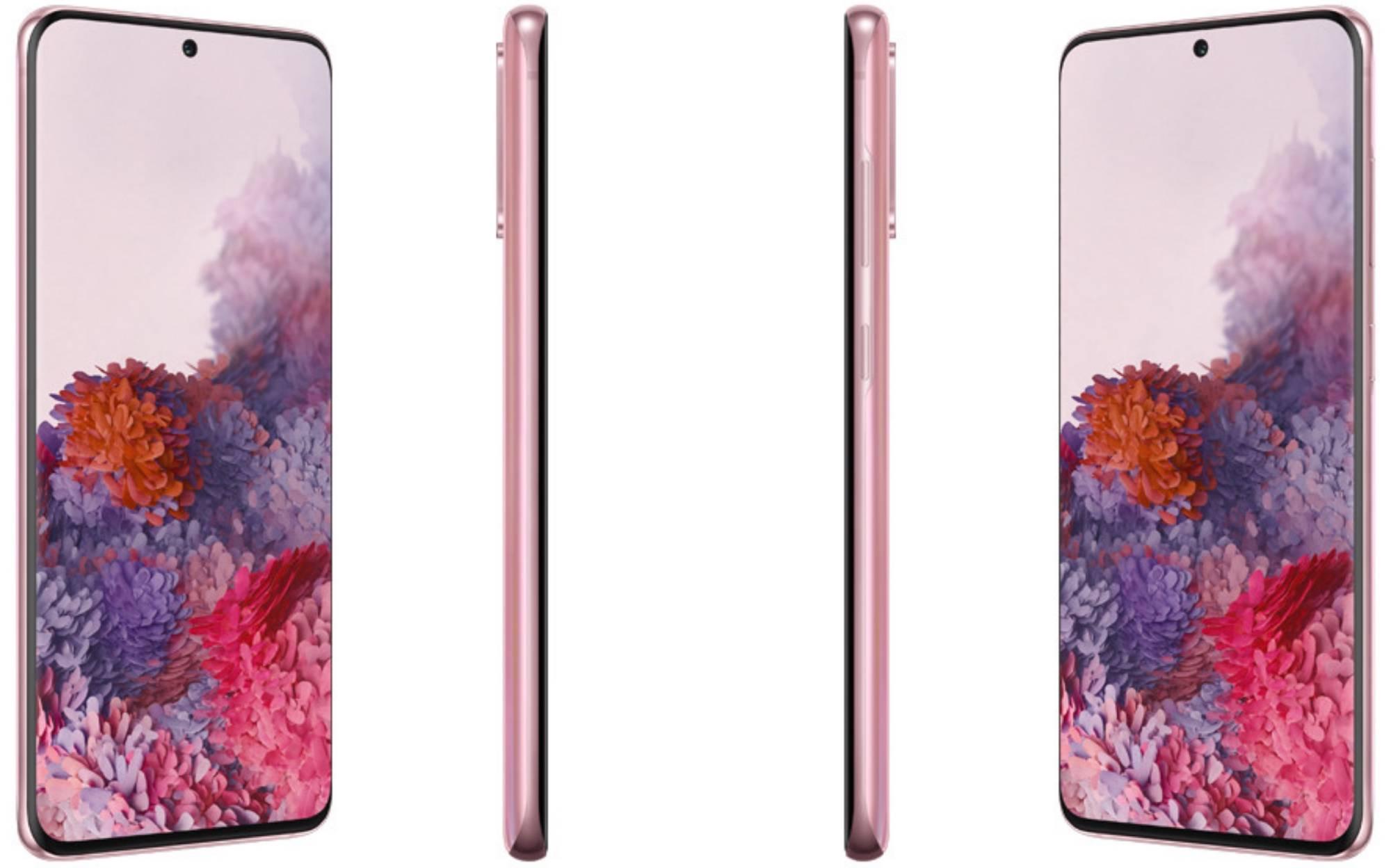 Samsung Galaxy S20 Rosa 2