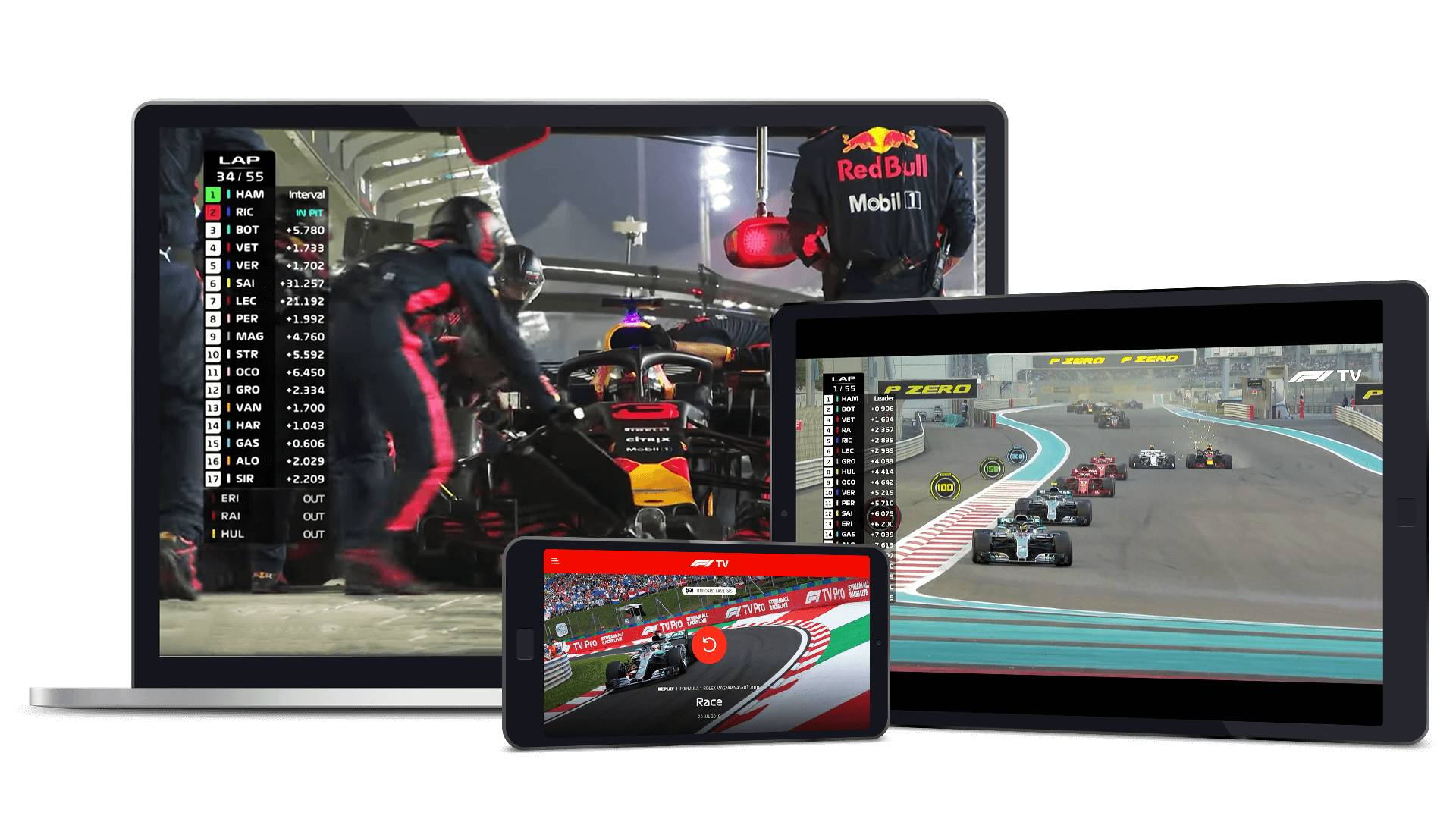 F1 Tv Header