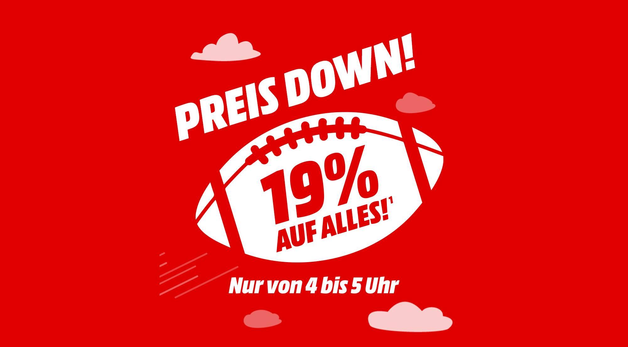 Mediamarkt 19 Prozent Super Bowl Aktion