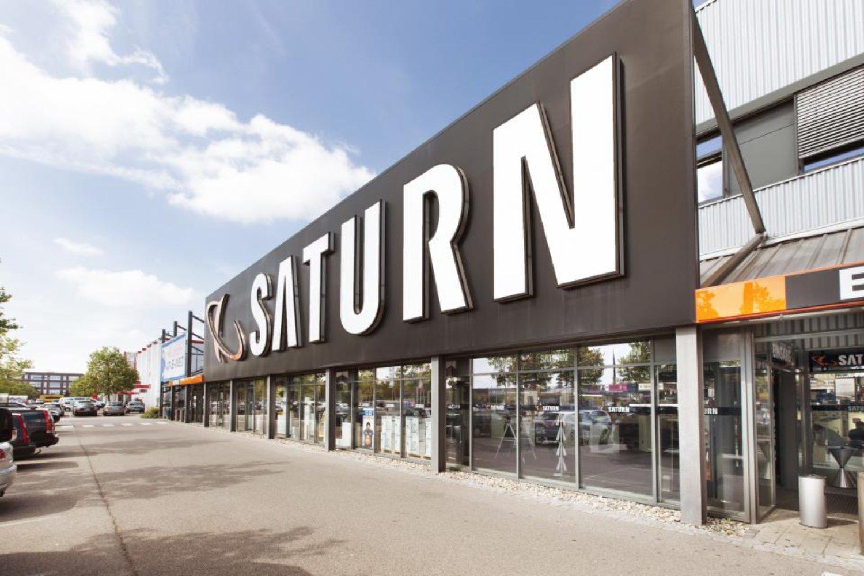 Saturn Flagship Store Köln Logo Header