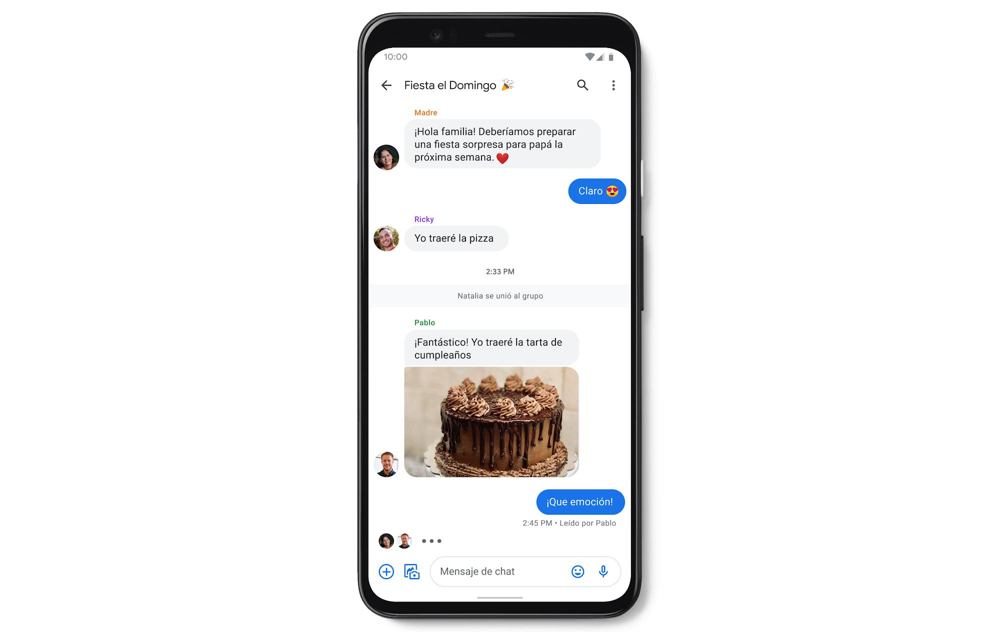 Google Messages Chat