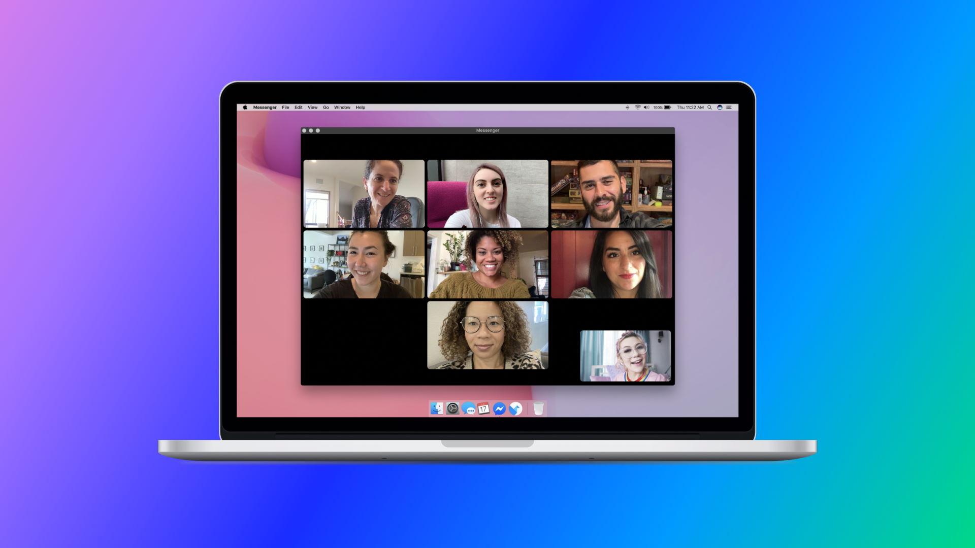 Facebook Messenger For Desktop Header