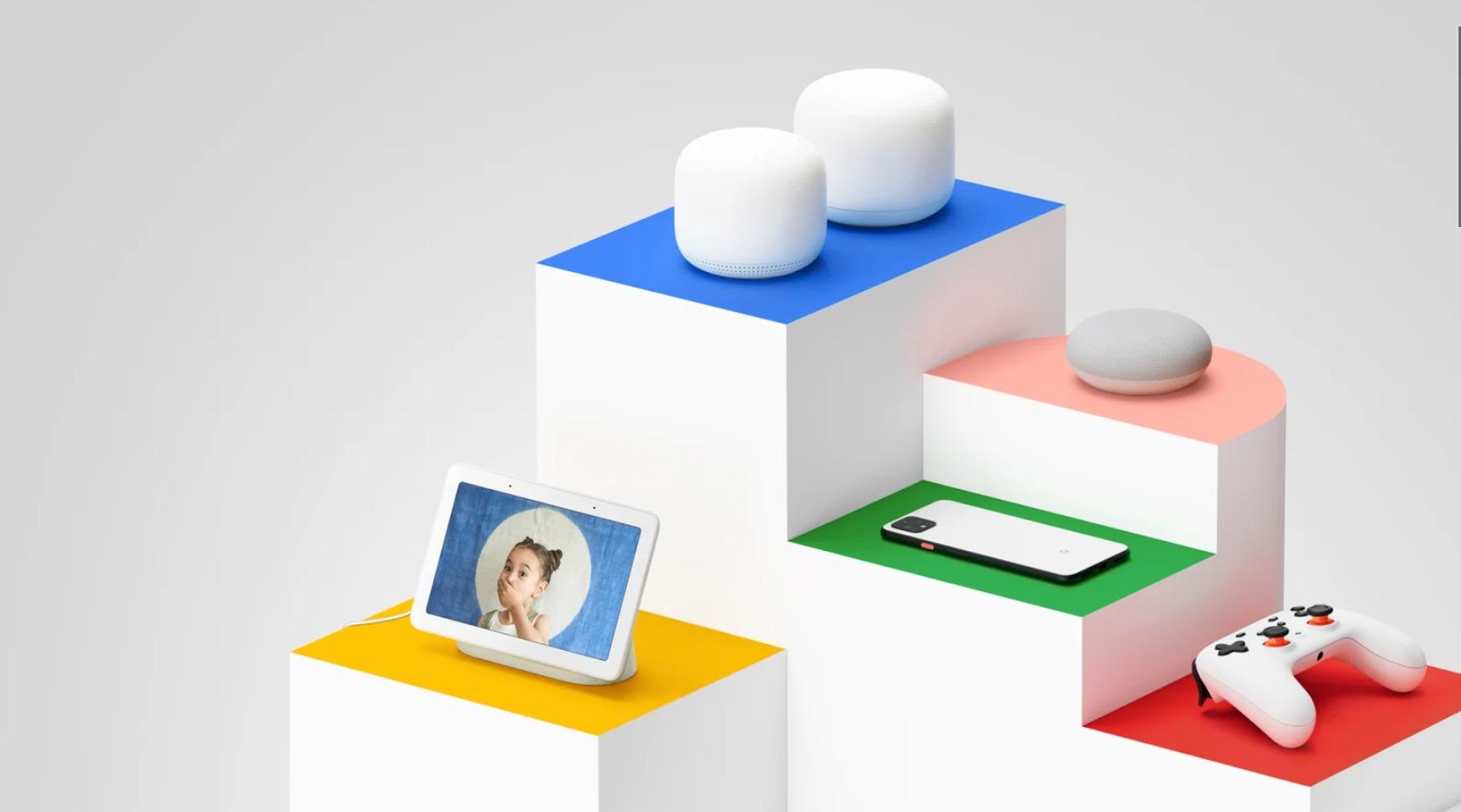 Google Store Hardware Geräte Header