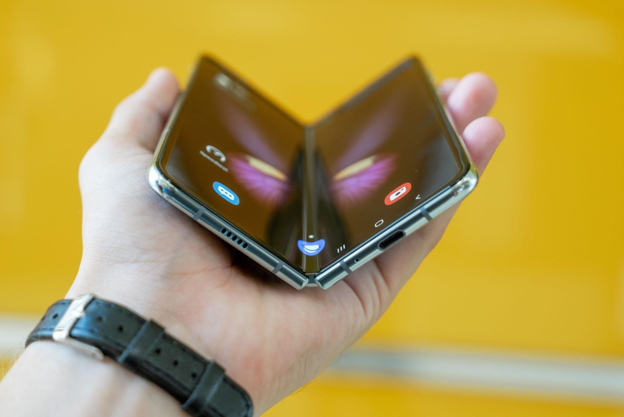 Samsung Galaxy Fold Mika Baumeister