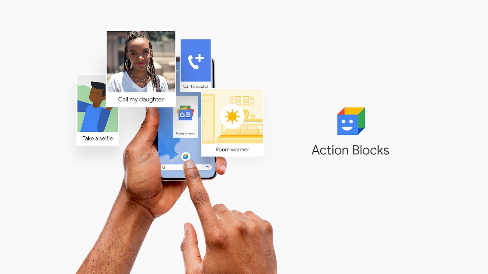 Action Blocks Google Assistant