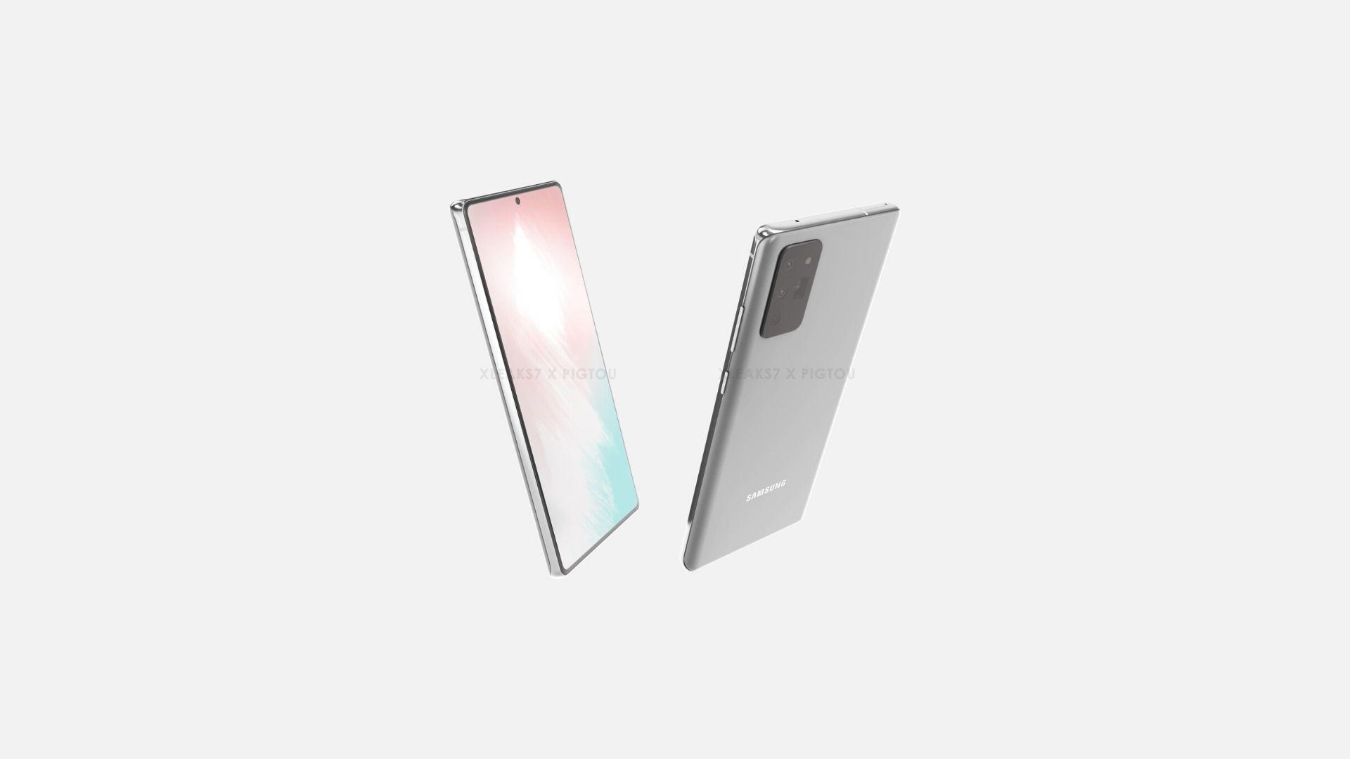 Samsung Galaxy Note 20 Pigtou Header