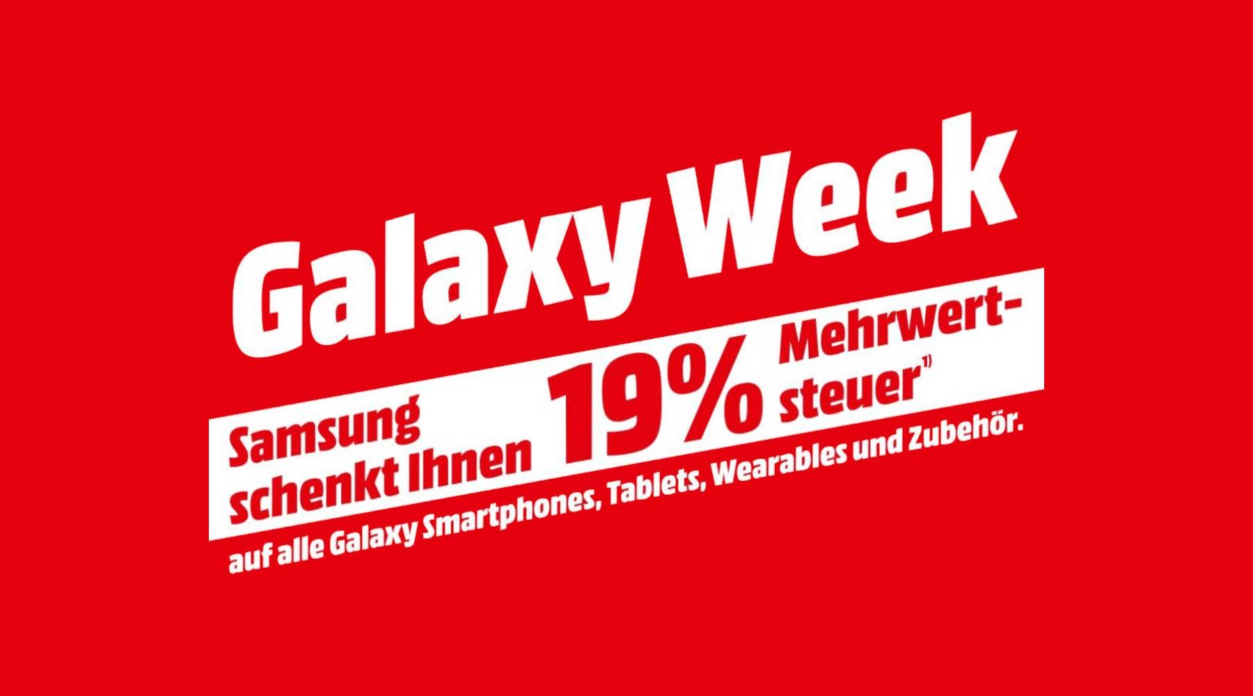Samsung Galaxy Week 2020 Mediamarkt Saturn Aktion