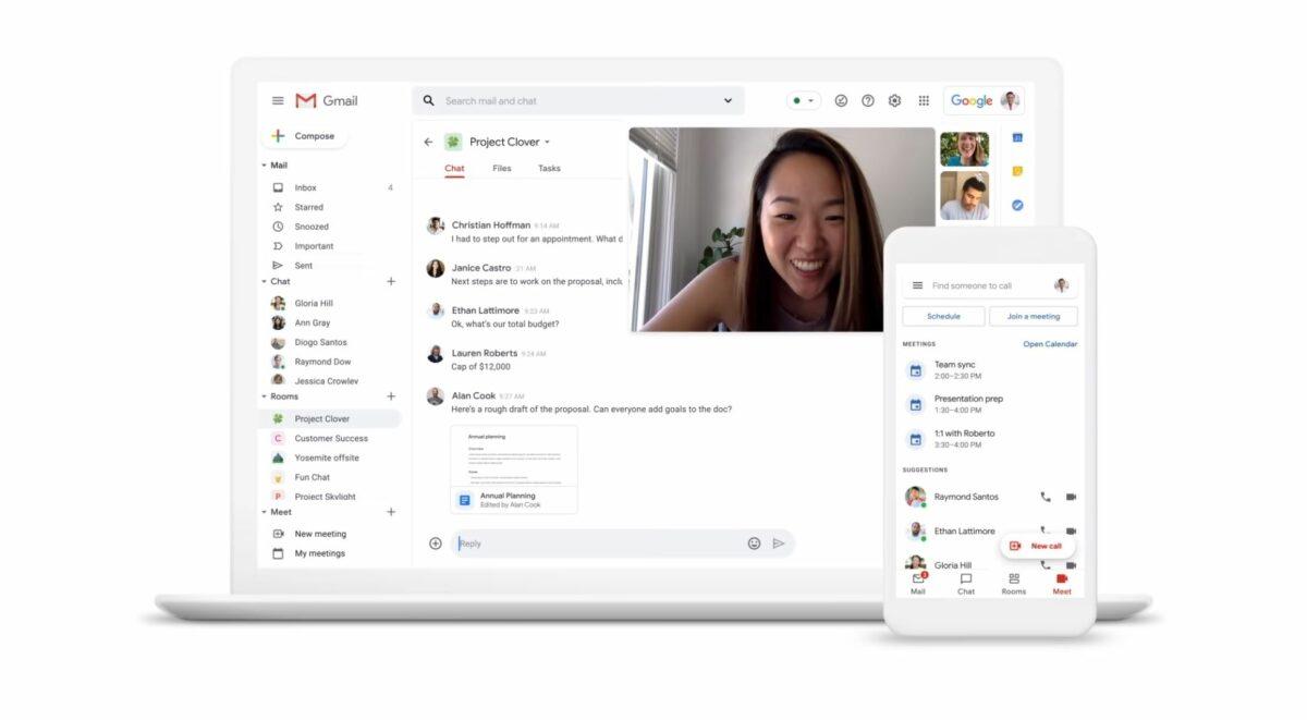 Gmail Head Juli 2020